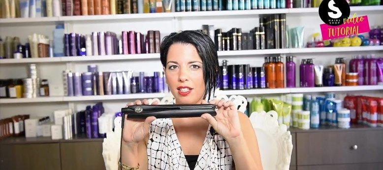 Ghd Gold Styler: Video tutorial per capelli corti asimmetrici