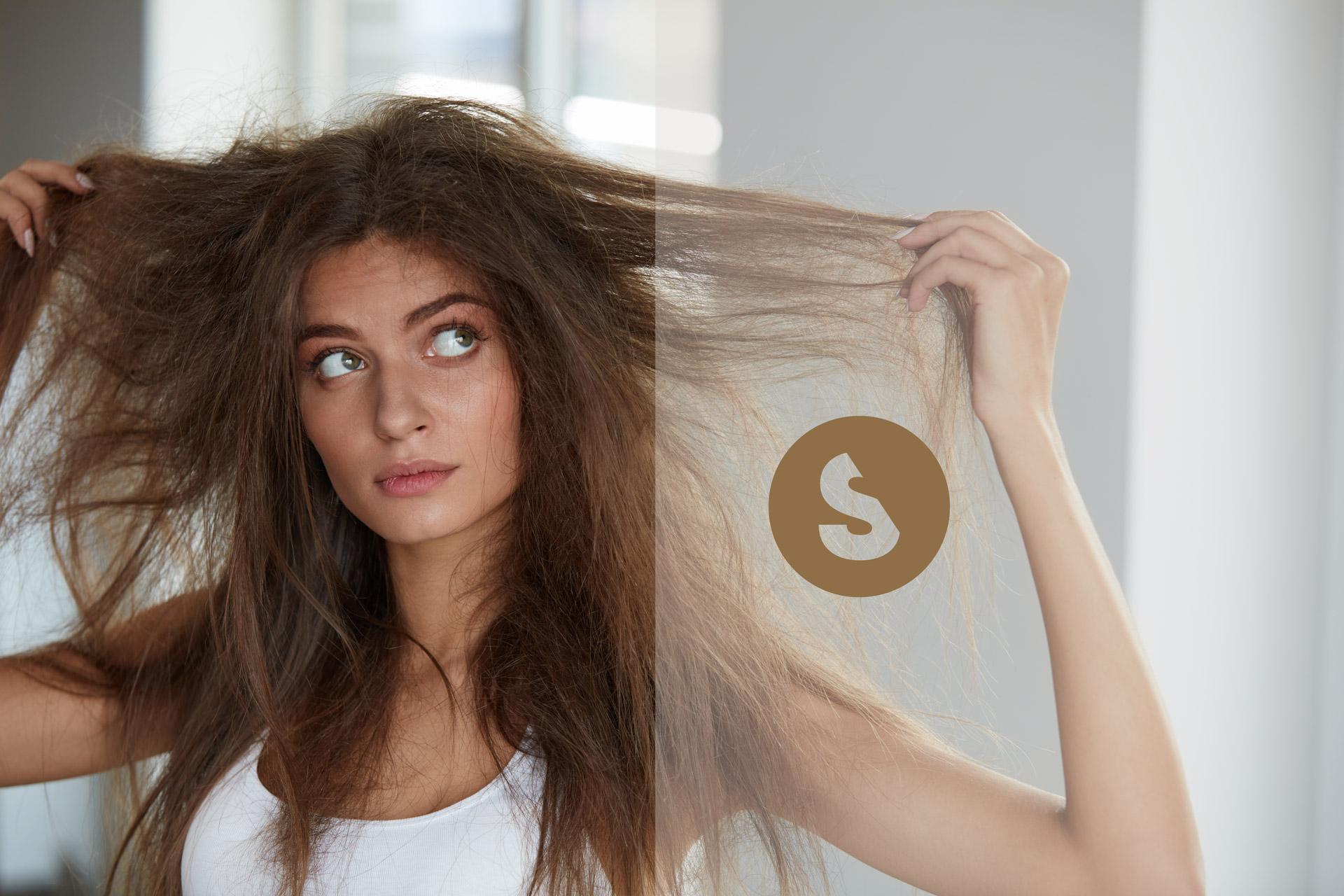Soluzione per capelli secchi e danneggiati